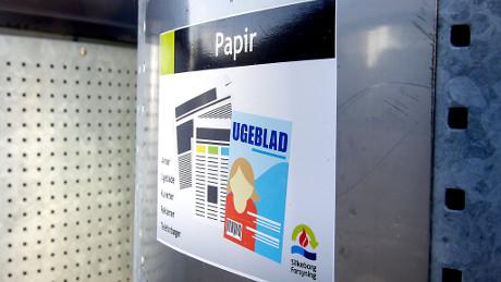 Cool Papir og pap i samme beholder NC92