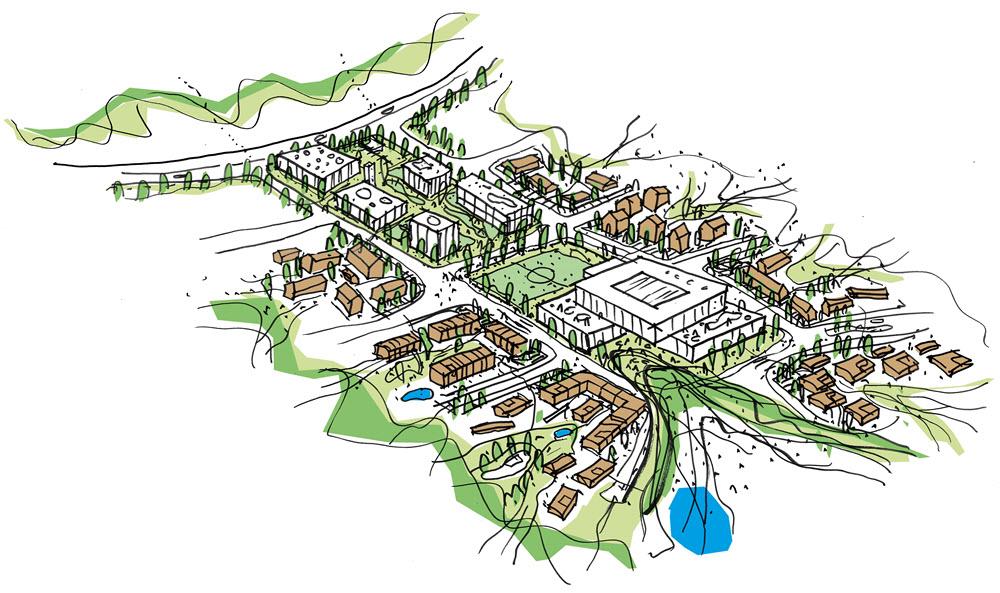 Naturen og fællesskaber skal danne rammen om Silkeborgs...