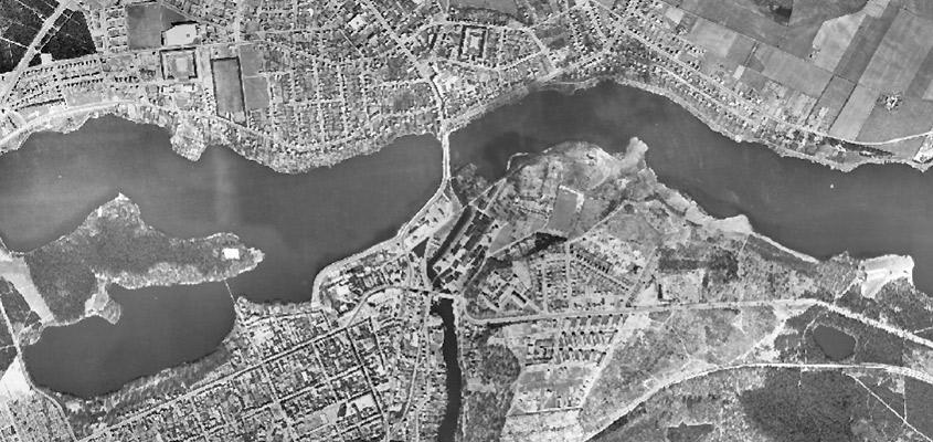 Historiske Kort Og Luftfotos Over Silkeborg Kommune