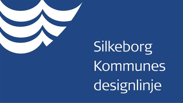 Designlinje for Silkeborg Kommune april 2014 - forsidegrafik